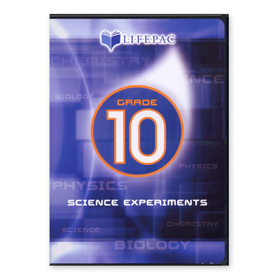 LIFEPAC 10th Grade Science Experiments