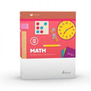 LIFEPAC 1st Grade Math Complete Set