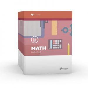 LIFEPAC 3rd Grade Math 10-Unit Set