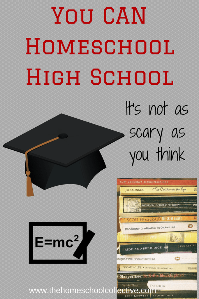 You CAN Homeschool Through High-School