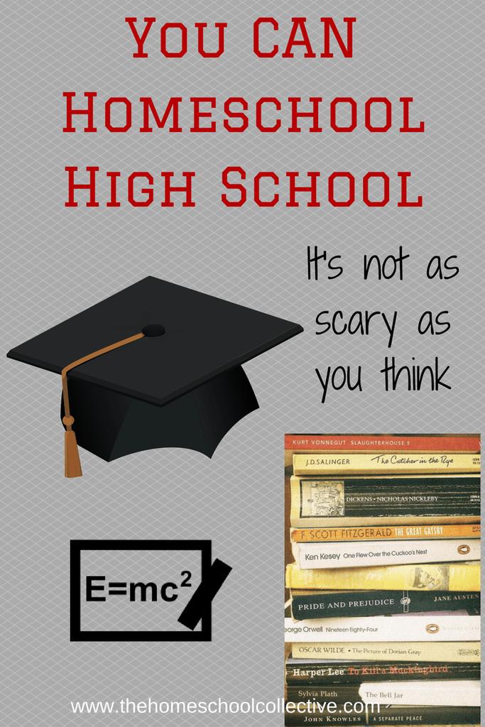 You CAN Homeschool Through High-School